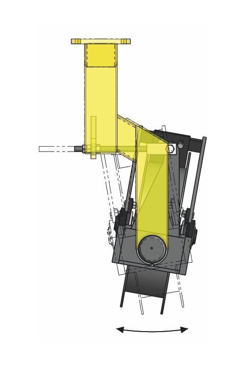 sorközművelő kultivátor peremes határoló kerék