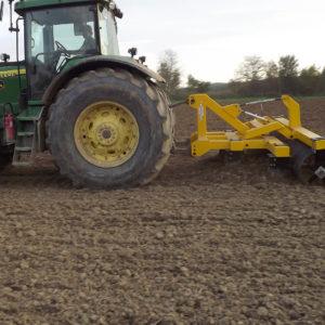 talajlazító kétsoros 5 késes