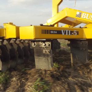 talajlazító V 5 késes