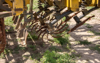 used Busa Rotary seedbed maker