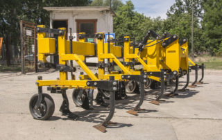 used Busa Rotary row crop cultivator