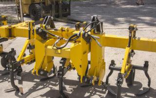 használt frontfüggesztésű Busa Forgókapás sorközművelő